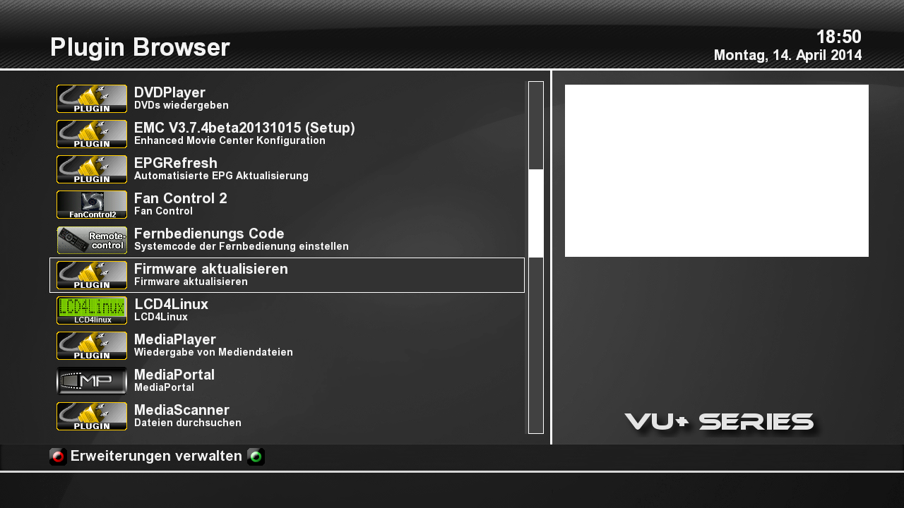 Vu+ Update